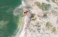 ドローンで空撮 サーフィン動画