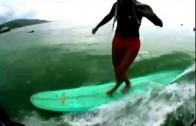 長編ロングボード動画 Surf Reflection