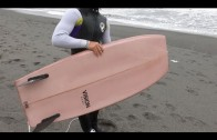 "Vision Surfboards ""The Table"" 4'11 超フラットデッキ&スクエアレール"