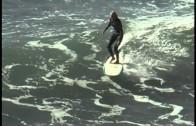 ガールス・ロングボード・サーフィン
