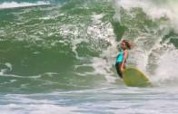 Deus 9' & シングルフィン surfvision