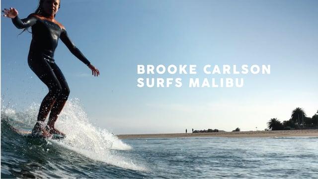 マリブローカル Brooke Carlson 12歳