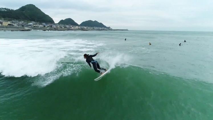 WSL 空撮サーフィン 千葉マルキ フリーセッション