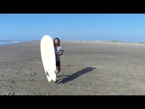 fishimmons 6'1 シェープ kei okuda trouble surfboard
