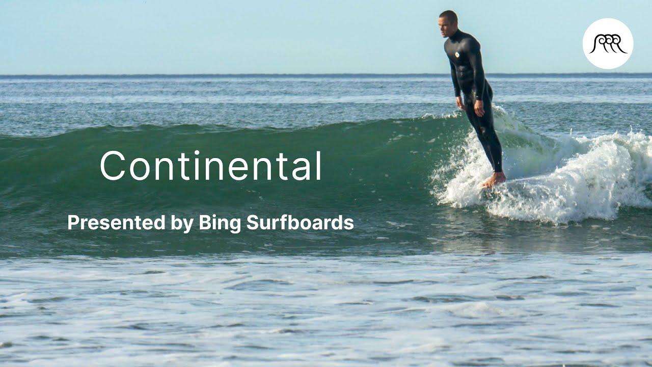 """ミック・ロジャースのスタイリッシュ・ノーズライディング Bing Bing Surfboards """"コンチネンタル"""""""